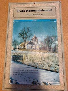 Kalender fra Ryde købmandshandel 1970 Købmand L. Linding