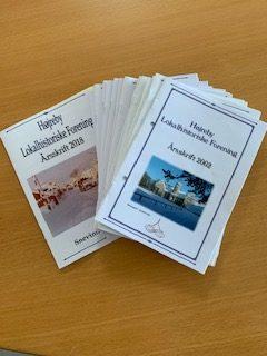 Årsskrifter fra Højreby lokalhistoriske Arkiv fra 2002 - 2018